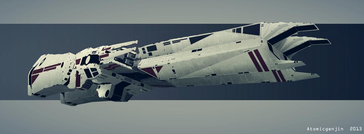 Macross Astraios Battle Class by AtomicGenjin