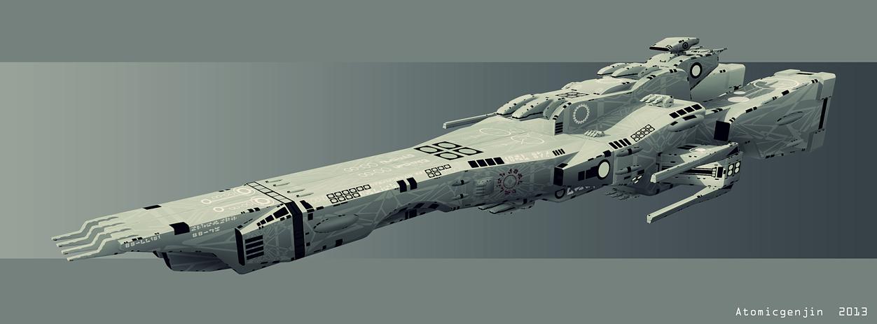 Macross fan  et devianart Supervision_army_gunboat_by_atomicgenjin-d6100ym