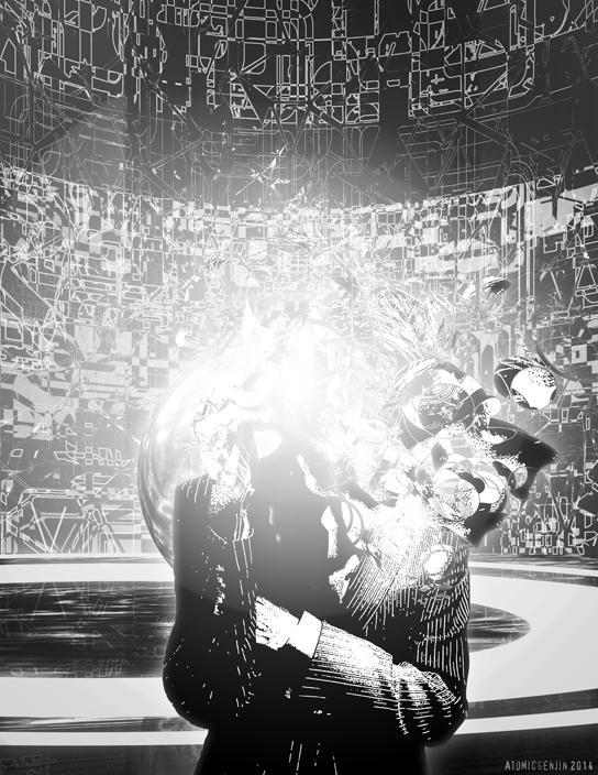 Fragmented Man by AtomicGenjin