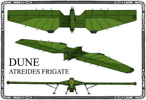 Dune. Atreides Frigate(vert)