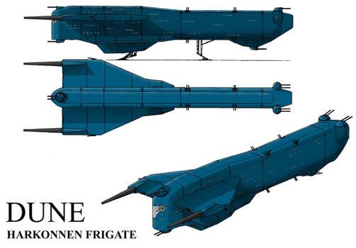 Dune. Harkonnen Frigate(azure)