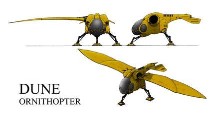 Dune. Arrakis Ornithopter