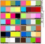 14 Color Palettes