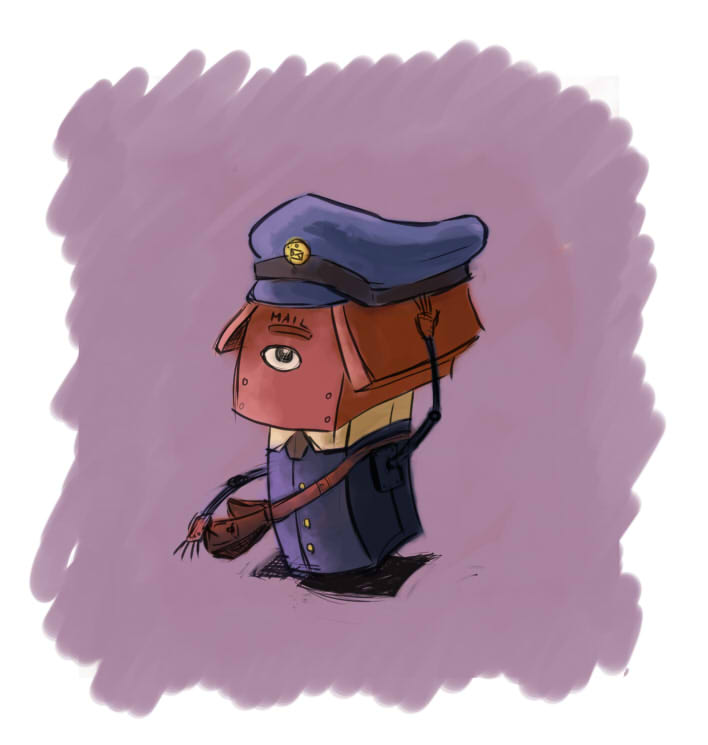 Postman Bot by Vonvon-von-vonski