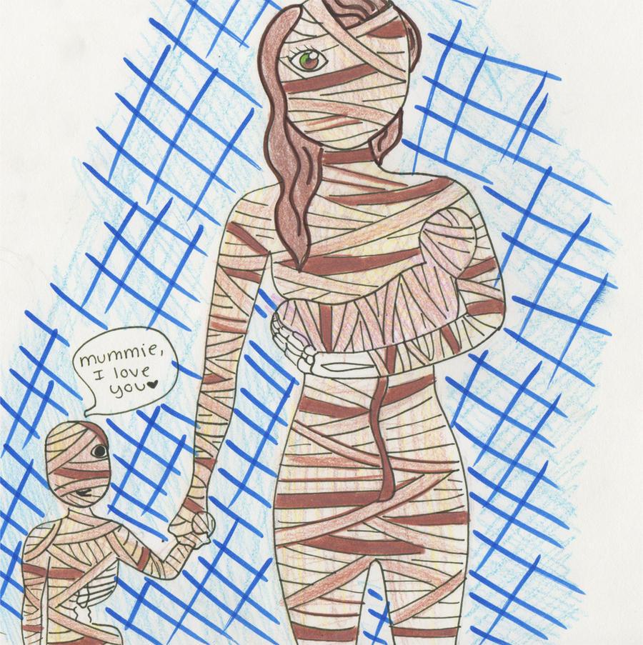 I love you, mummy. by ThugLicorice