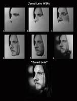 Jared Leto WIPs by Lorelai82