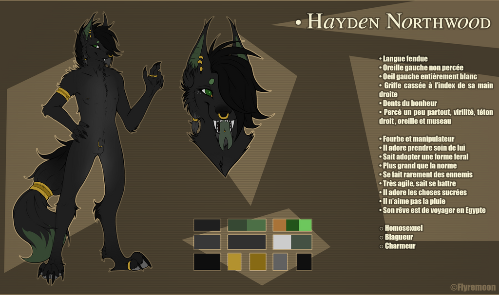Hayden Northwood - Reference by Flyremoon