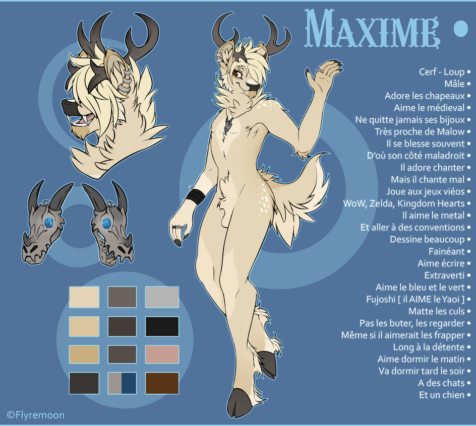 Max ref by Flyremoon