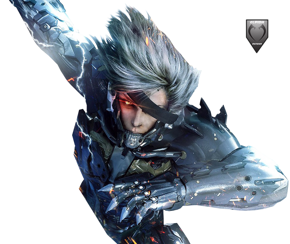 Metal Gear Rising Wallpaper: Raiden Jack Revengeance Render By Elpida-Wood On DeviantArt