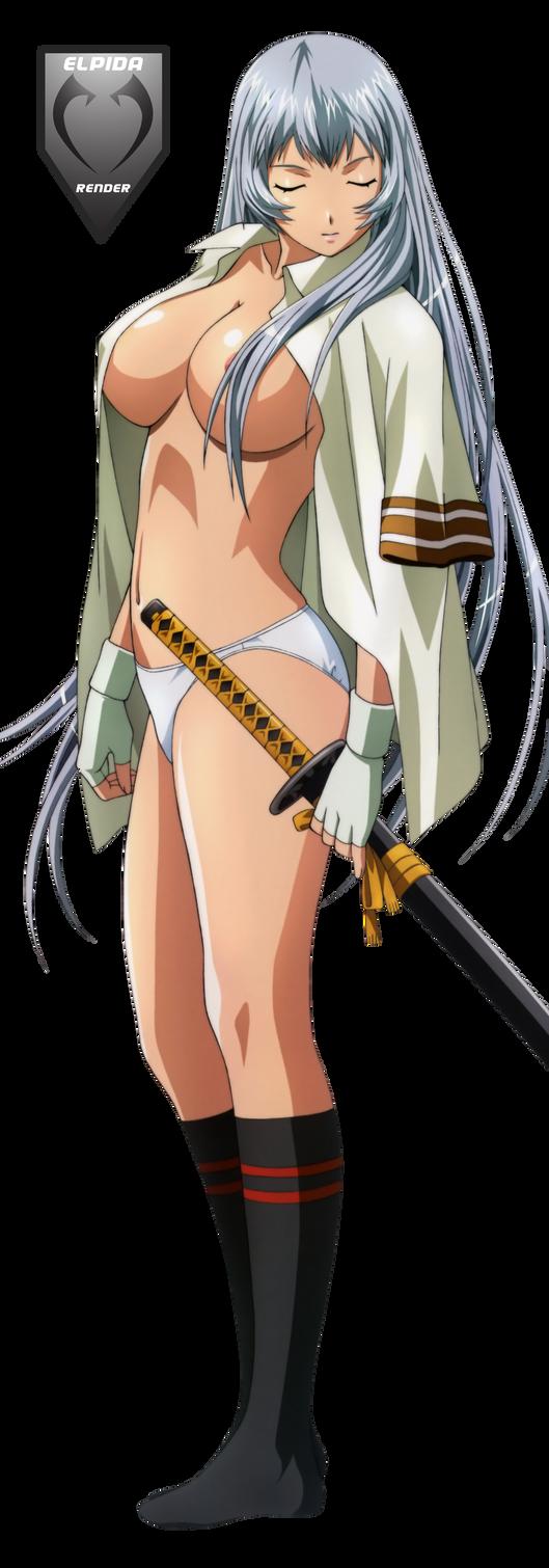choun shiryu underwear ikkitousen GG render by Elpida-Wood