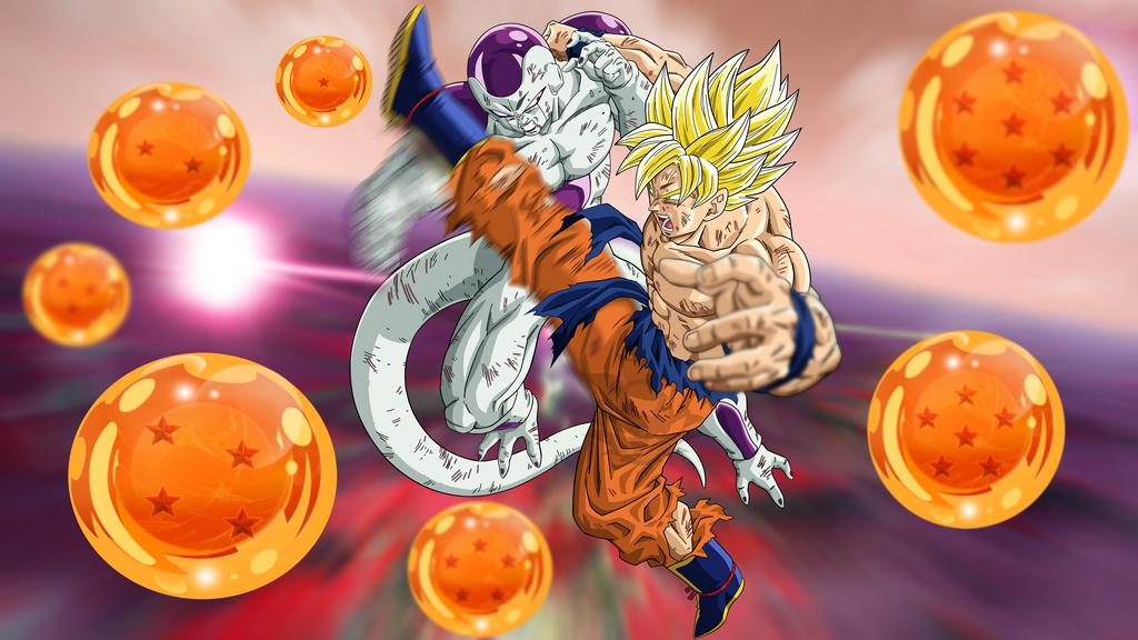 Goku Vs Frieza Title Intro 4K Wallpaper By Davidmaxsteinbach