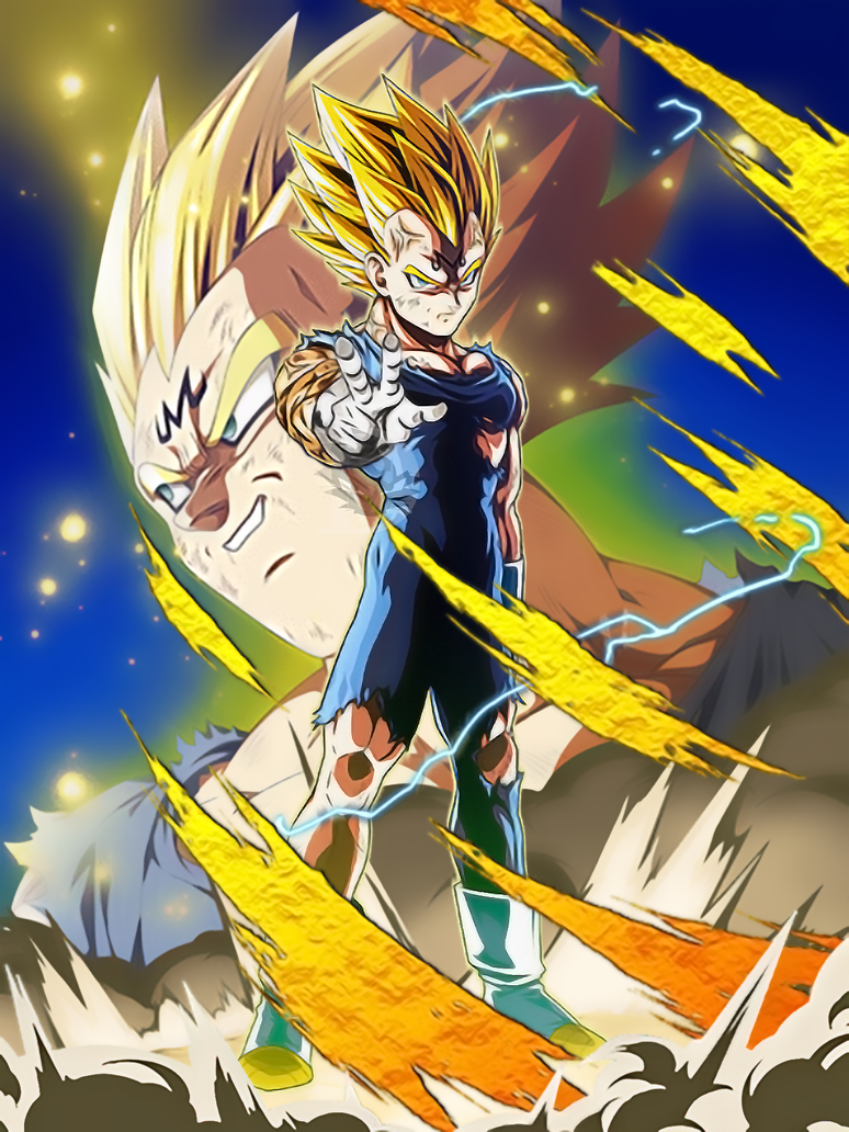 Lr Majin Vegeta Rework V 2 3 Original Effects By