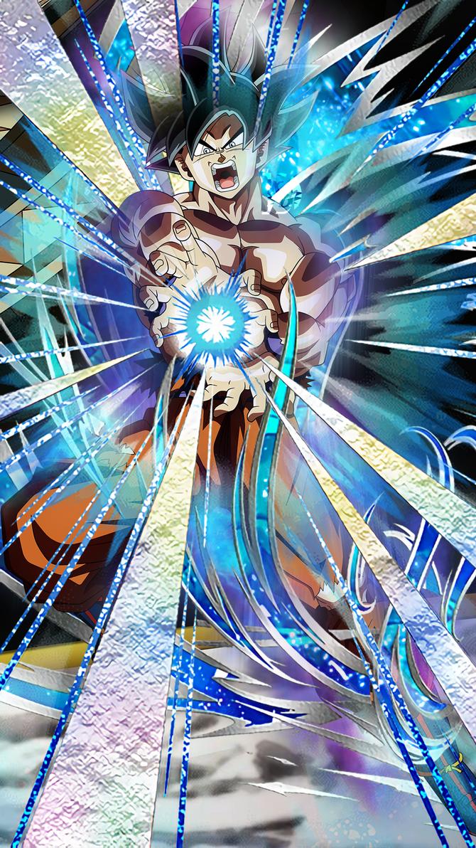 Ultra Instinct Goku Mobile Wallpaper 1080p By Davidmaxsteinbach On