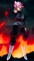 SSR Goku Black w/ FU Mobile Wallpaper 1080p by davidmaxsteinbach