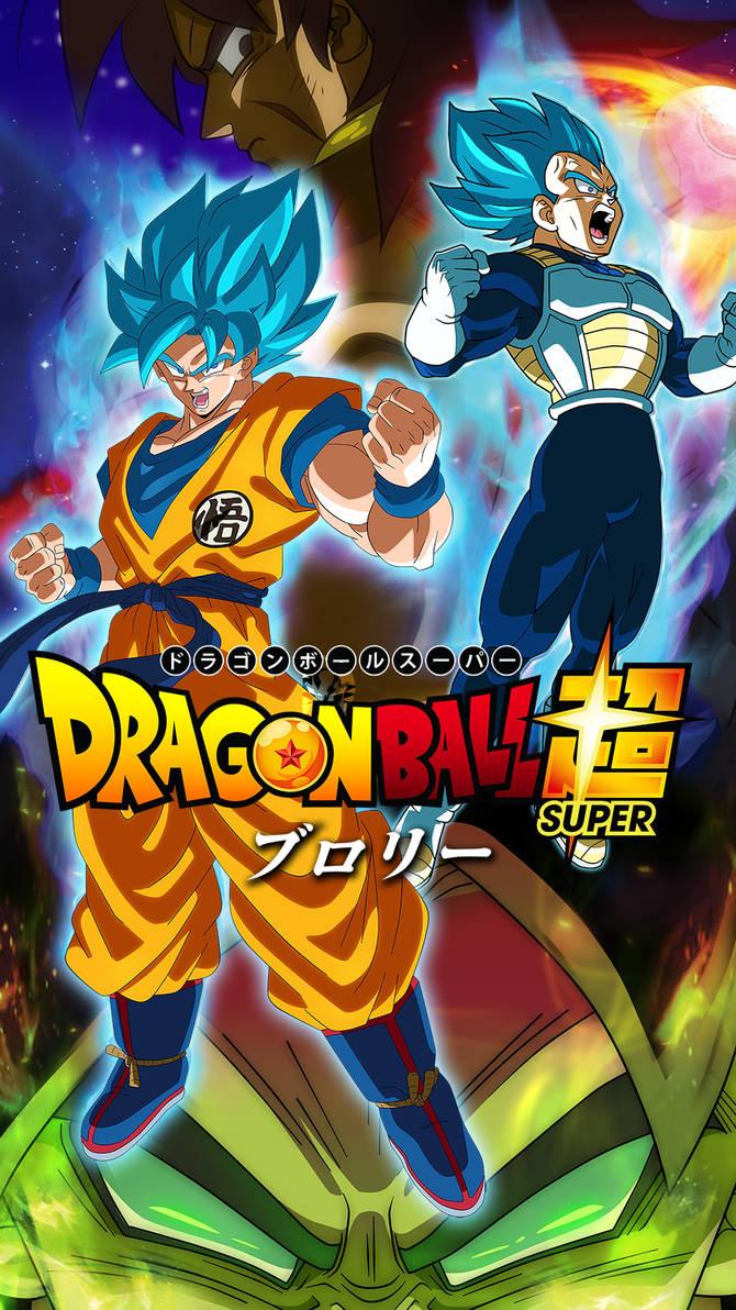 Dragon Ball Super Broly Hd Mobile Wallpaper By Davidmaxsteinbach On Deviantart