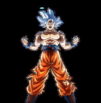 Goku Ultra Instinct Bucchigiri Match HD RENDER #1 by davidmaxsteinbach