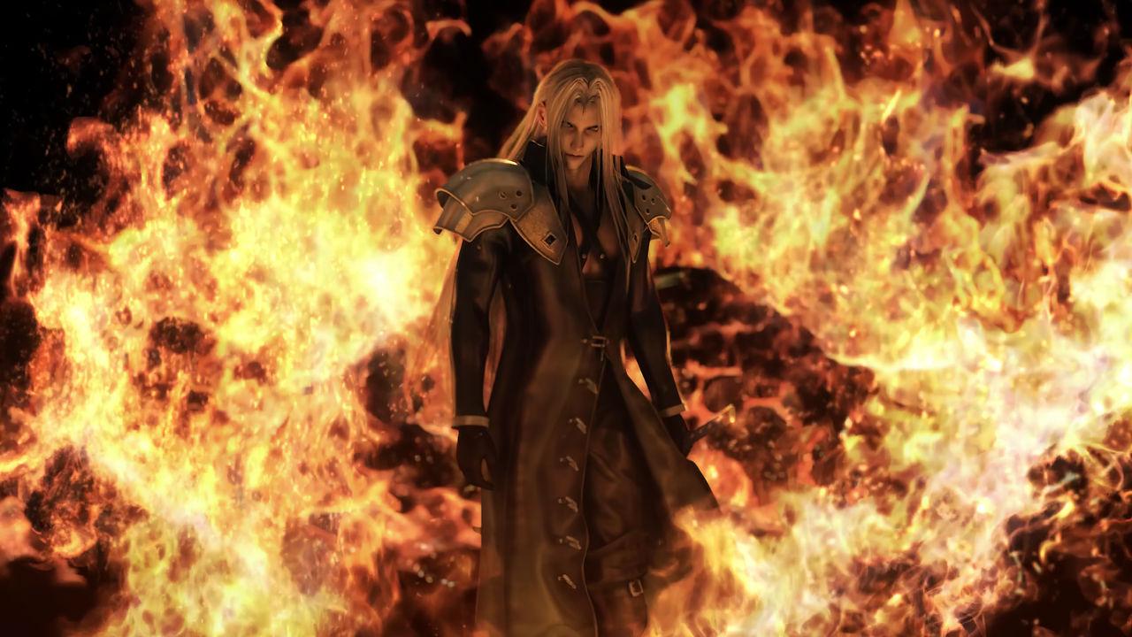 Final Fantasy Vii Sephiroth Burns Nibelheim 8k 2 By