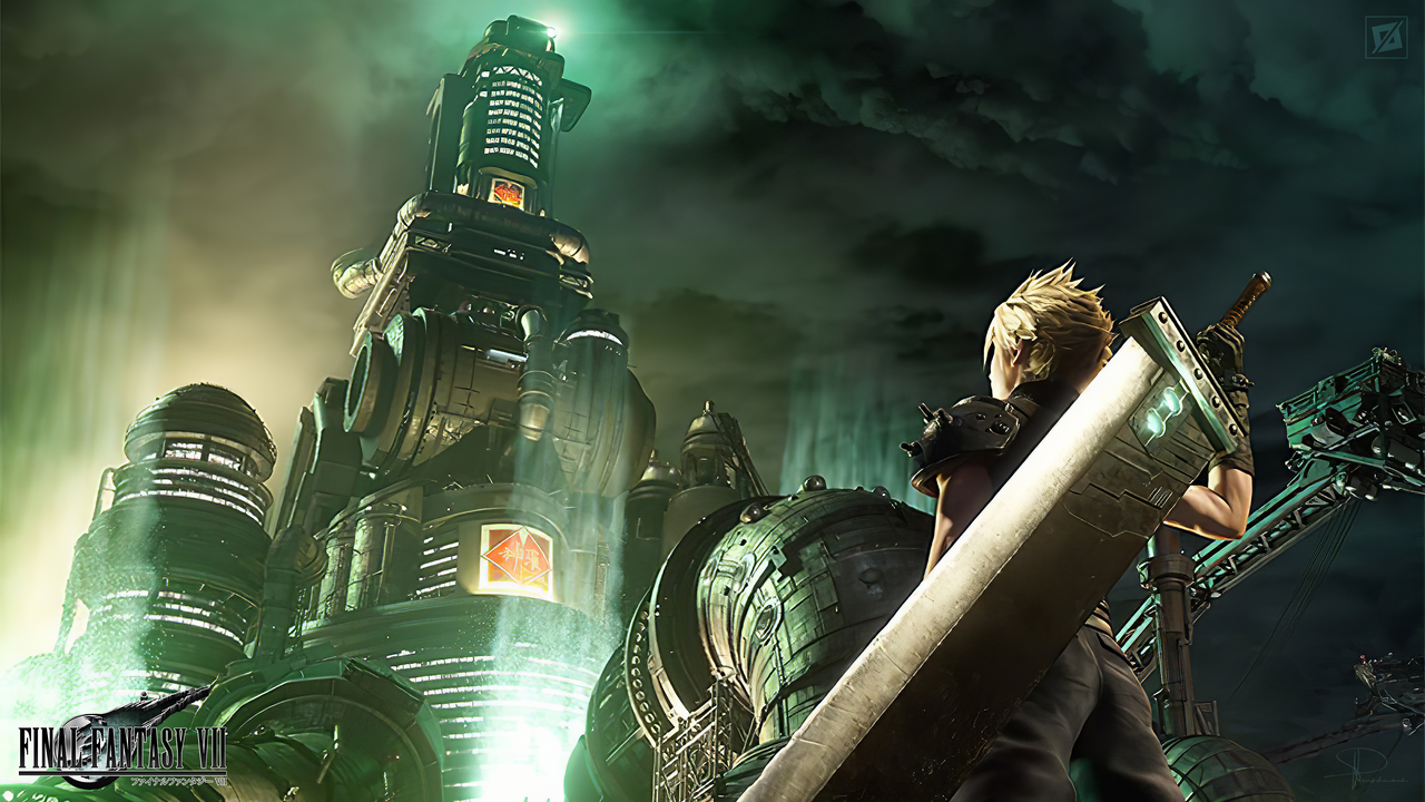Final Fantasy Vii Remake Album Art Remake 4k By