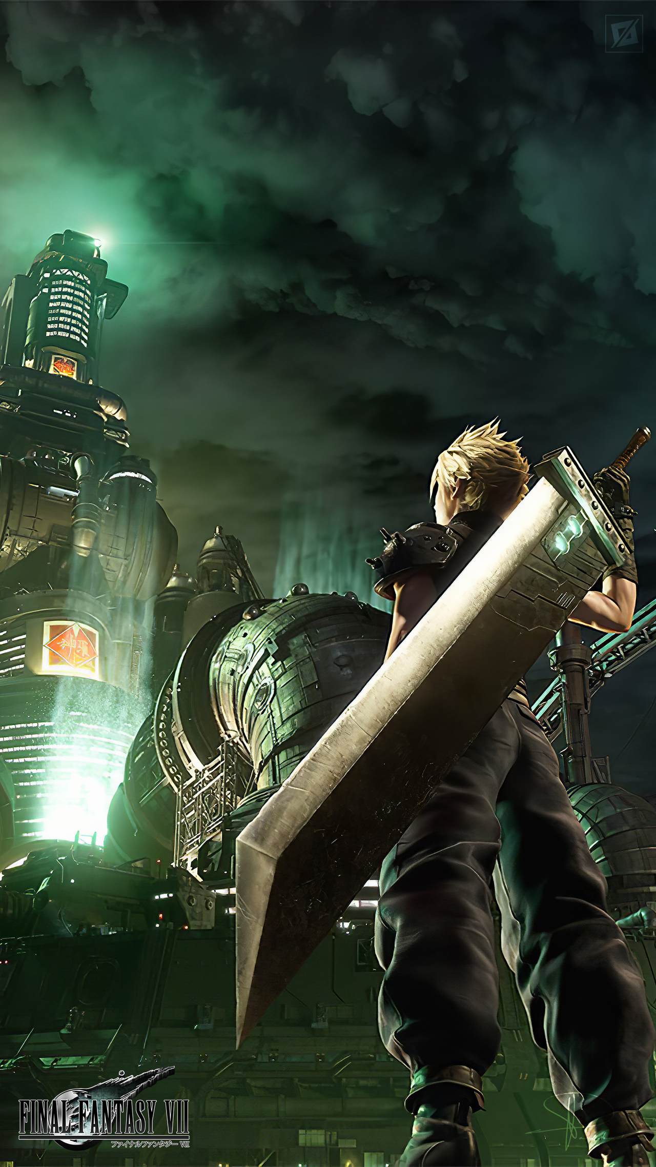 Final Fantasy Vii Remake Album Art Mobile 2k By