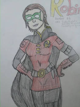 Robin from an old fan fiction I wrote