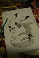 Pikachu - Pika Pika :3 by Ada2987