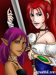 Contest - Kaelmo and Shannah by Amaethil