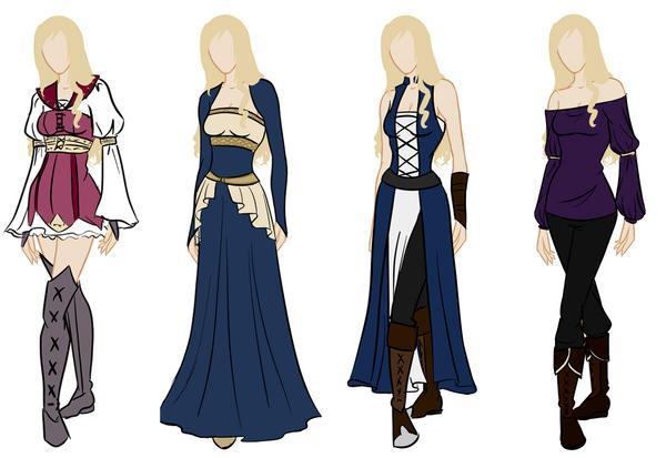 Frederique Wardrobe Reference By Amaethil On Deviantart
