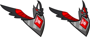 MLP Resource: Alicorn Amulet 3/4 view