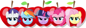 MLP: The faces of Apple by mewtwo-EX