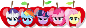 MLP: The faces of Apple