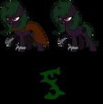 MLP OC: Shadow Thorn