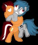MLP OC: Orange Cane Epic Hug