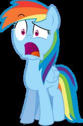 MLP Rainbow Dash: Guh...Trixie? by mewtwo-EX