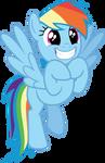 MLP Rainbow Dash Fangasm by mewtwo-EX