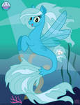 MLP SketchVector: SeaBronies' Sea Sailor Seapony by mewtwo-EX