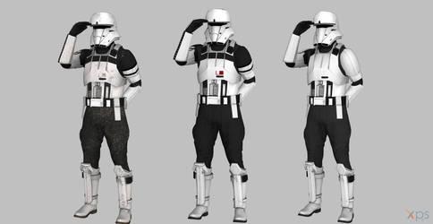 Star wars Rogue One Tank trooper by BlinkJisooXPS