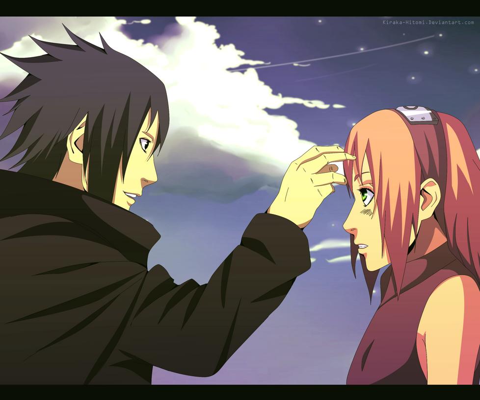 Sasuke and Sakura | Manga 699 by Kiraka-Hitomi