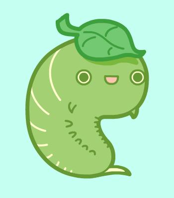 Happy Little Caterpillar by nickbachman
