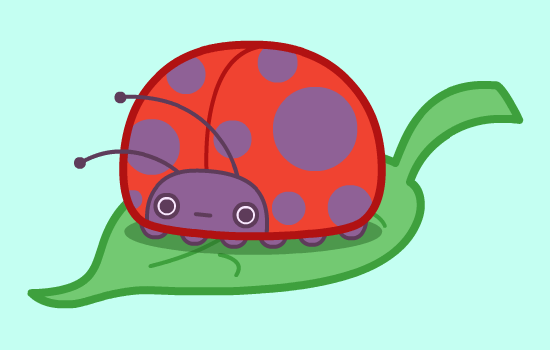 Littlest Ladybug by nickbachman