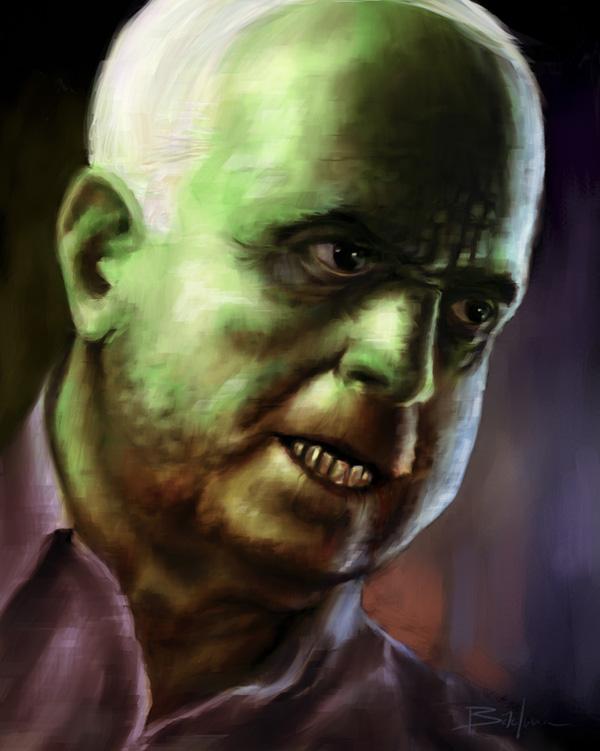 John McCain Monster Portrait by nickbachman