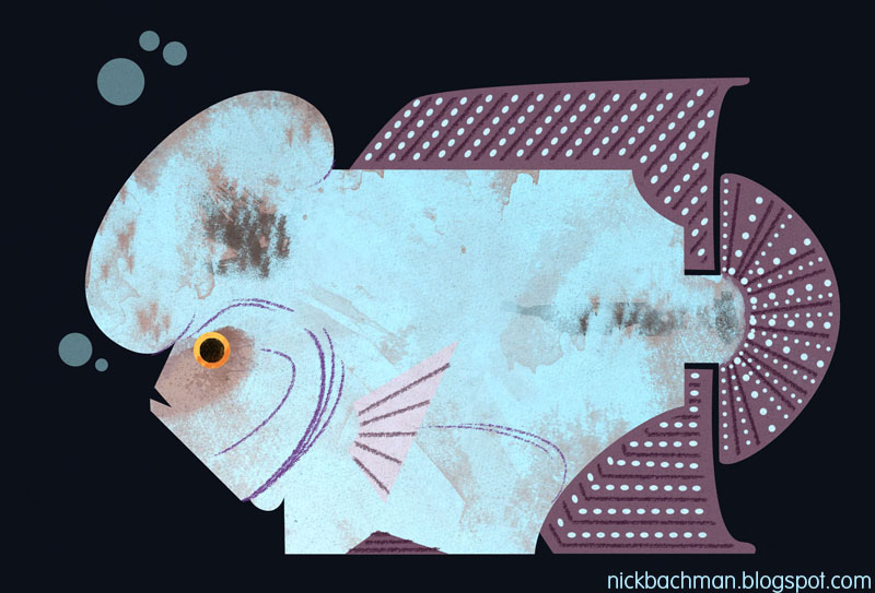 Fish Doodle 2 by nickbachman
