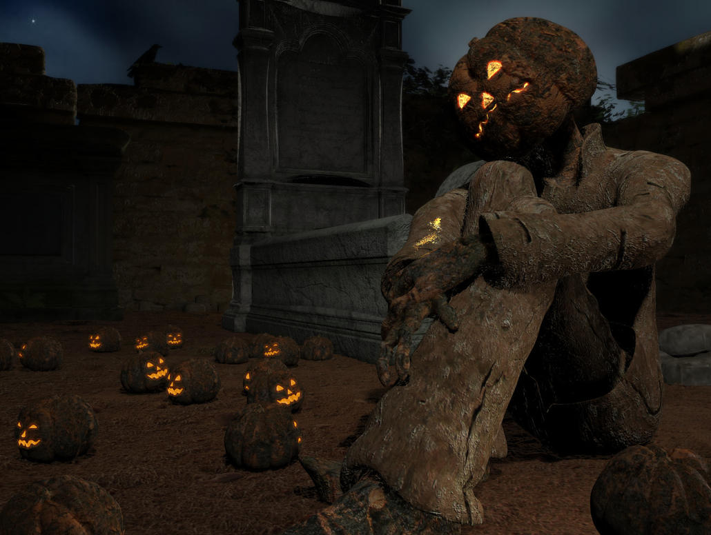 Happy DeathDay Mr Jack O Lantern by V3Digitimes