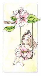 Apple blossom by Chichi-Angel