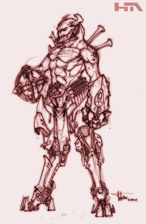 Tech Alien by NuMioH