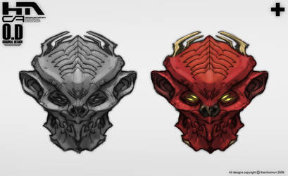 Creature Head by NuMioH