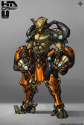 Techy Alien Sile Clr by NuMioH