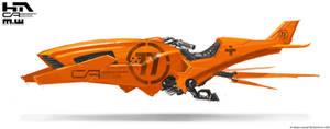 Orange Speeder 2