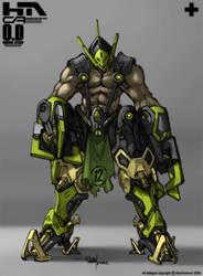 Techy Alien 12 by NuMioH