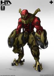 Techy Alien Brawl Clr by NuMioH