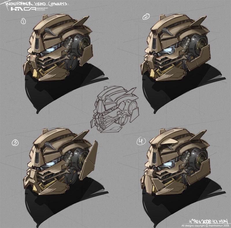 Transformer Head Concept by NuMioH